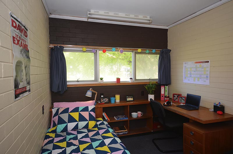 Typical room in Butler Halls
