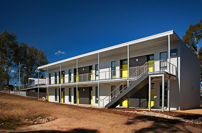 Exporers accommodation at Albury-Wodonga campus